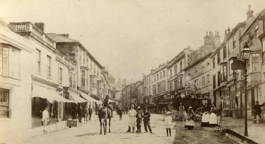 Coinagehall Street Helston 1880s