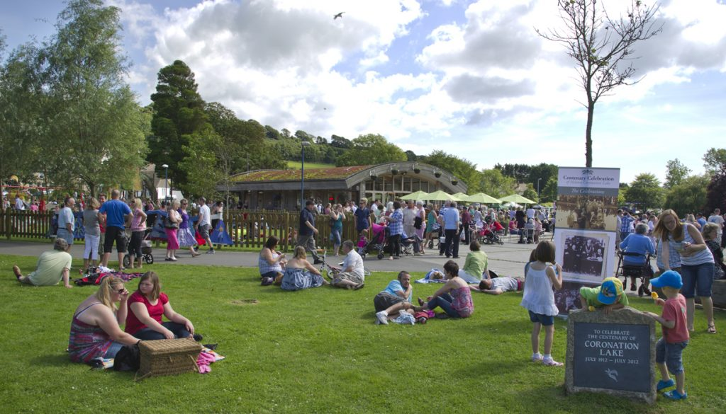 Coronation Park, Helston Summer