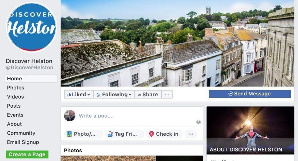 Discover Helston Facebook Header