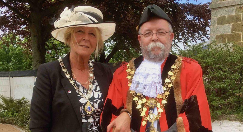 Helston's New Mayor