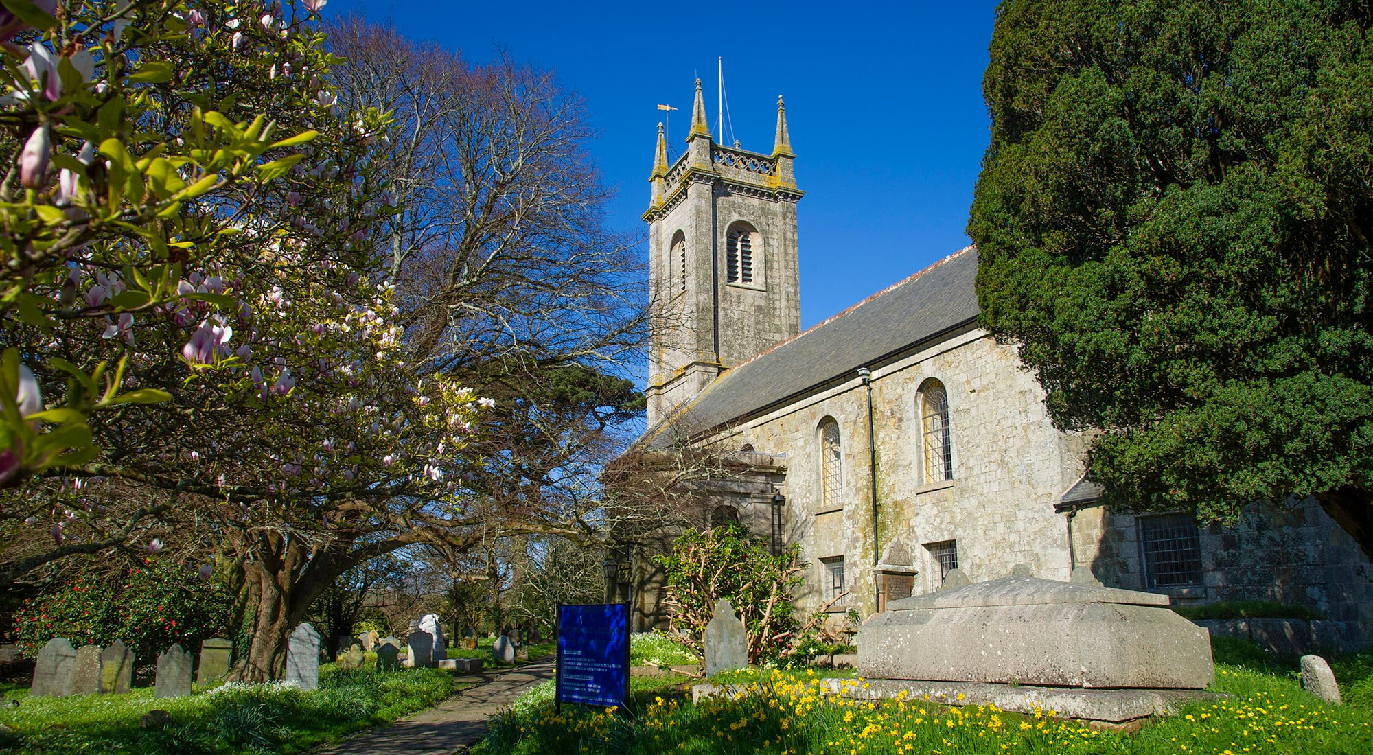 St Michael's Church and Churchyard in Helston