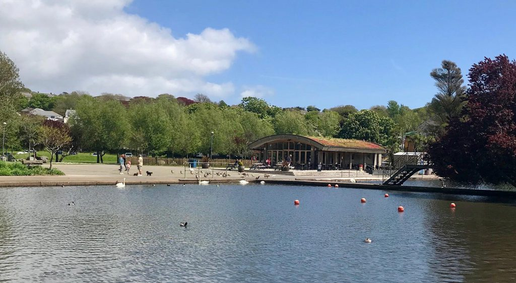 Helston's Coronation Lake
