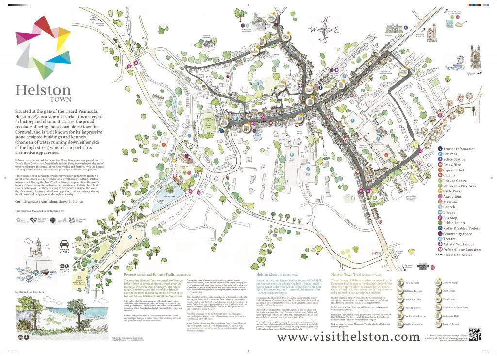 Helston Town Map
