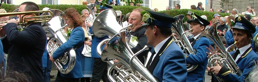 Helston Town Band Flora Day