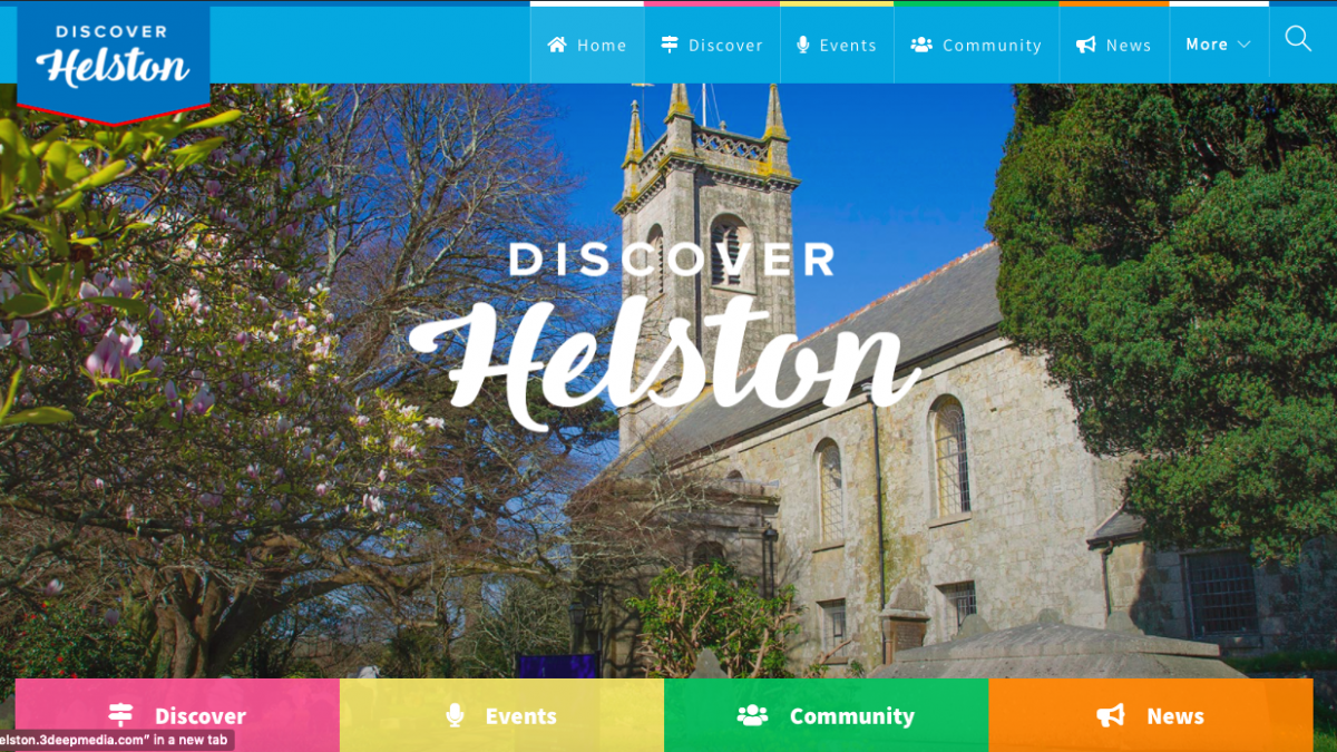 Helston Website image from home page