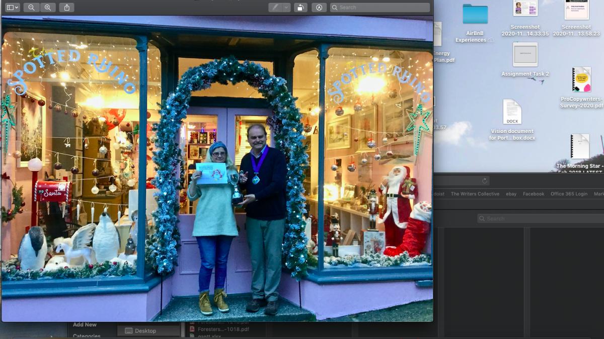 Christmas Window winner